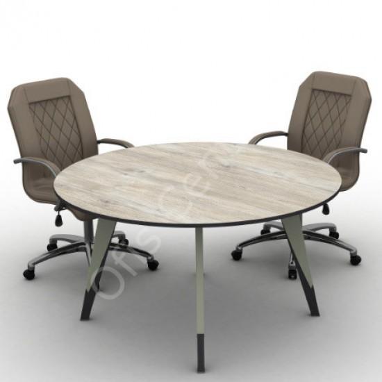 Trend Yuvarlak Toplantı Masası 120 cm çap